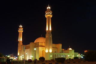 Bahrain Grant Mosque (Night view) | by Jacobs - Creative Bees
