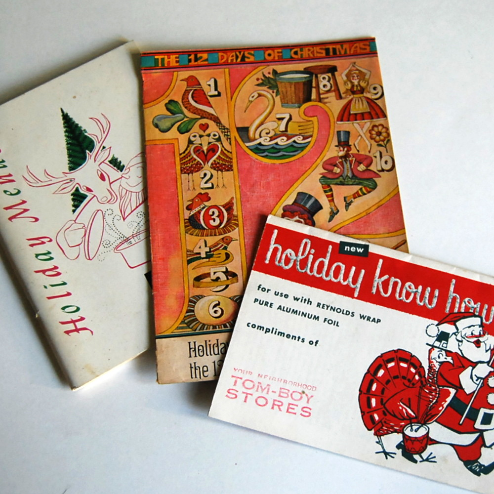 vintage advertising holiday cook booklets three vintage ad flickr