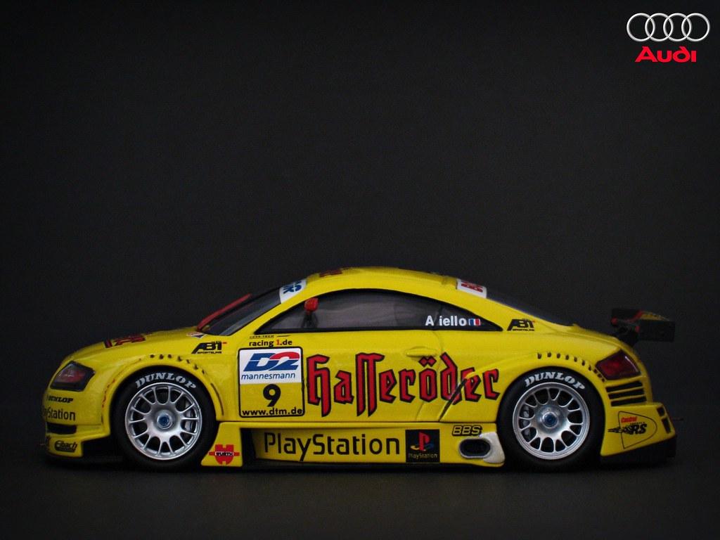 Audi Tt R Dtm 2000 Team Abt Laurent Aiello Nighteye Flickr