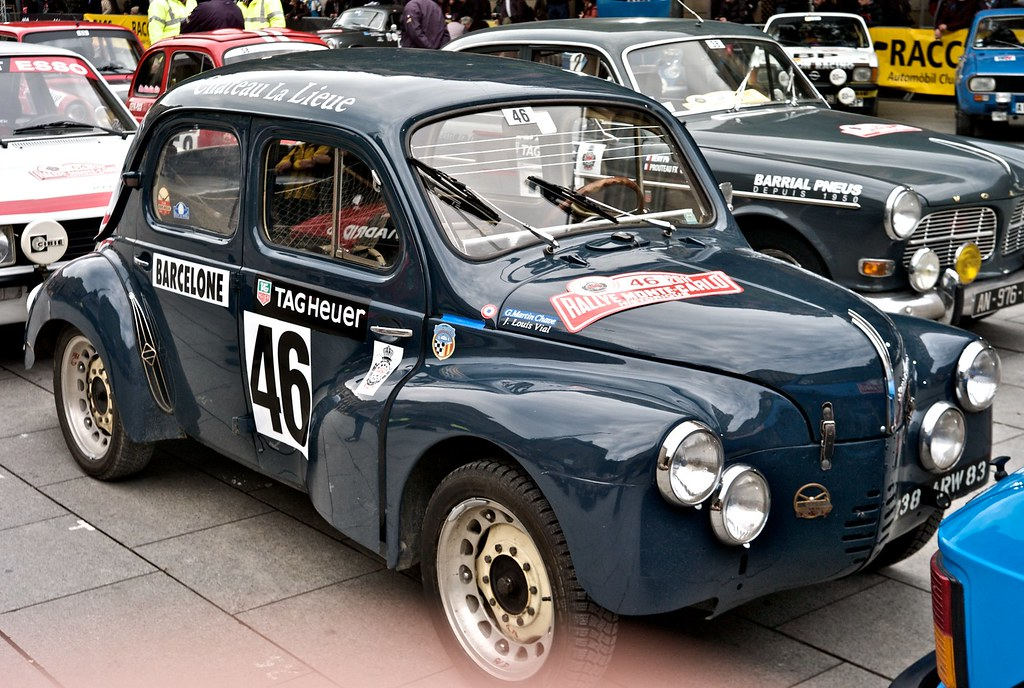 l9771146 rally montecarlo historique renault 4cv 1953 flickr. Black Bedroom Furniture Sets. Home Design Ideas