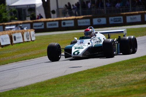 Williams-Cosworth FW08B, Goodwood Festival of Speed 2017