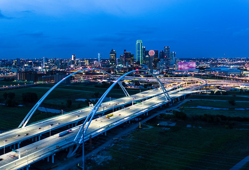 Dallas >> Dallas - Margaret McDermott Bridge | Daxis | Flickr