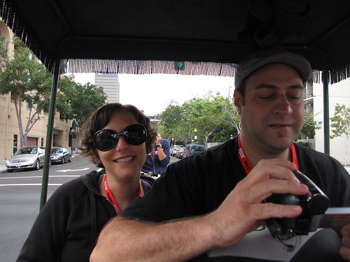 Michelle & Ivan on a Rickshaw | by buffyfest