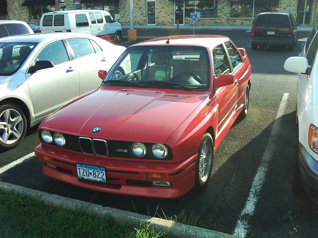 1990 Or 1991 Henna Red E30 M3 Spotted In Bloomington At Gr Flickr