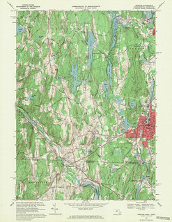 Webster Quadrangle 1969 - USGS Topographic Map 1:24,000 | by uconnlibrariesmagic