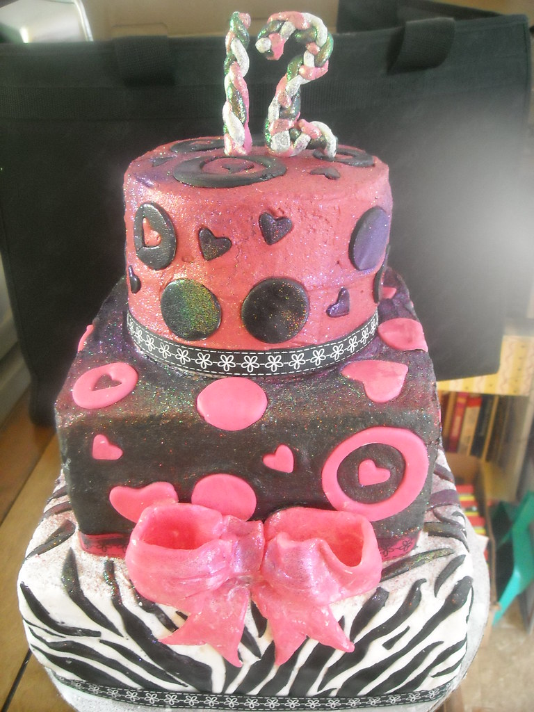 12 Year Old Girl Cake Carrie Holt Flickr