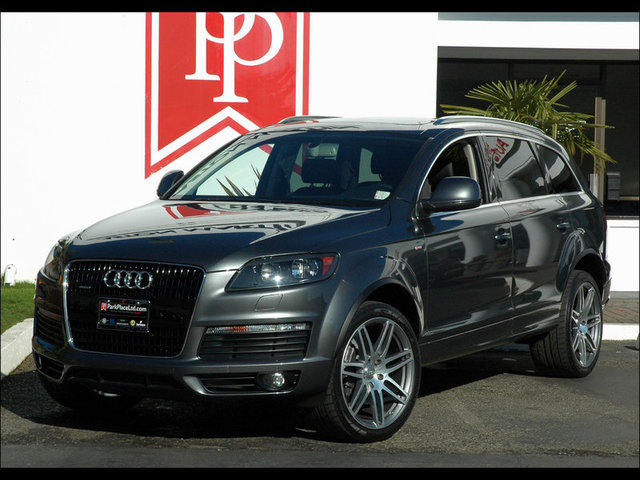 2008 audi q7 3 6 premium s line daytona grey black. Black Bedroom Furniture Sets. Home Design Ideas