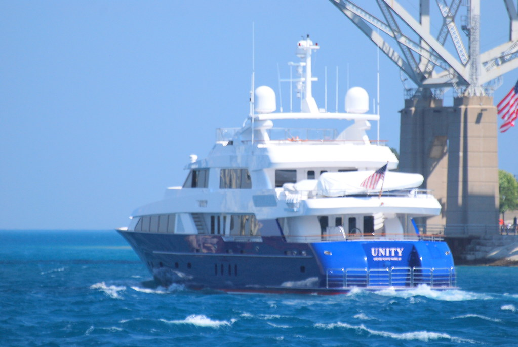 Unity Yacht Owned By The Ford Family The 131 Foot Yacht