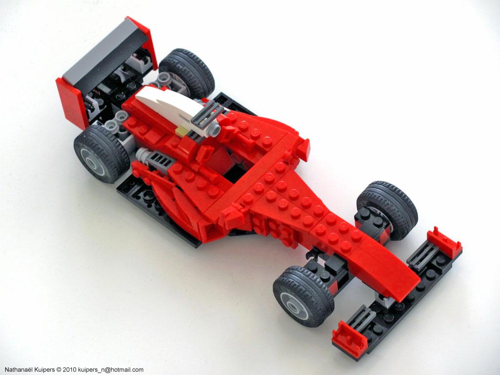 Built Up Toys Racing Car Instructions