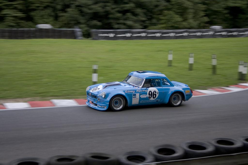 Sibley Racing MGB Roadster V8 | Paul Sibley drove his MGB Ro… | Flickr