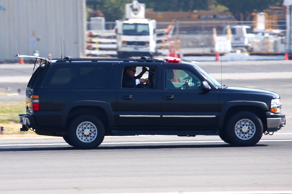 Secret Service Suburban   Part of the Secure Package with ...