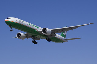 EVA Air Boeing 777-300ER B-16709 | by jbp274