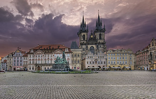 Old Town Square - Prague - Morning Sunlight | by DiGitALGoLD