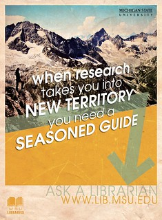 Fall 2010 Poster - New Territory | by MSU Libraries