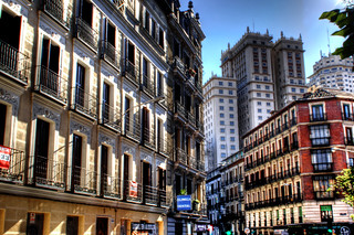 A street at Madrid. Una calle de Madrid | by J. A. Alcaide