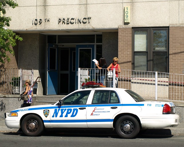 P109 nypd police station precinct 109 flushing new york - Garden city police department ny ...