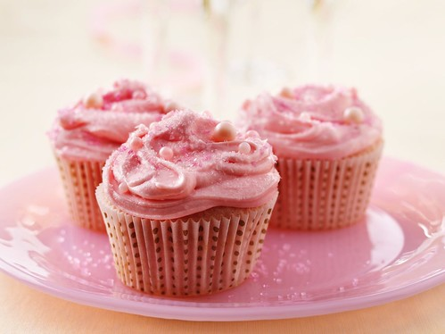 Pink Champagne Cupcakes | by Betty Crocker Recipes