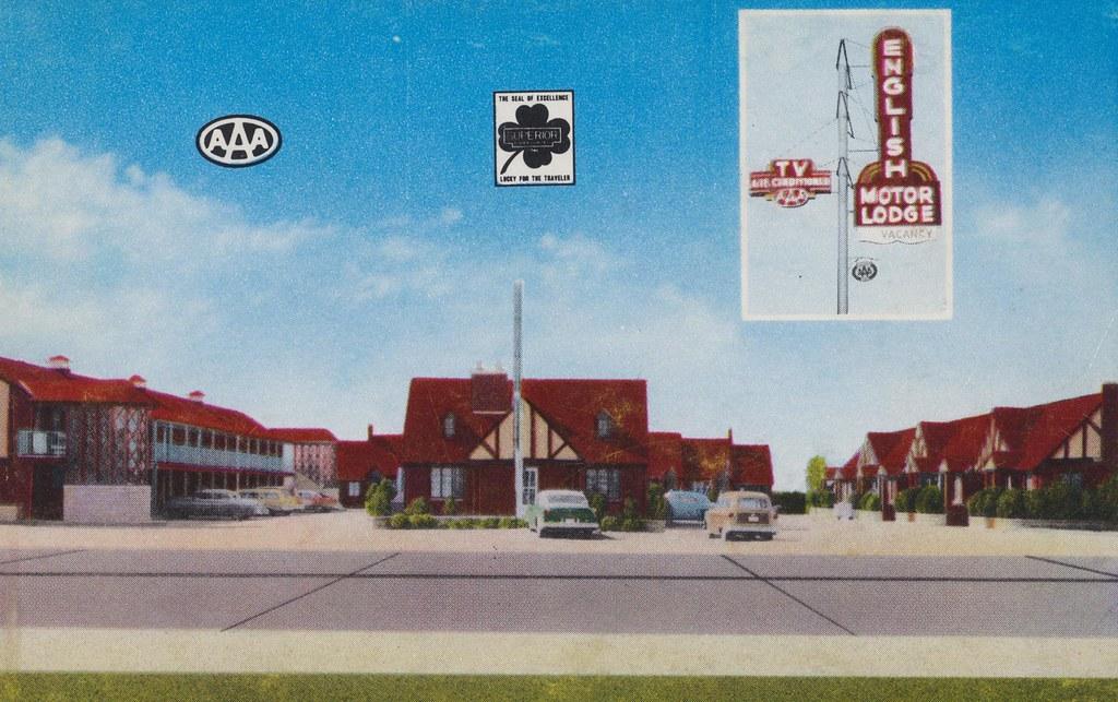 English Village Motor Lodge - Wichita, Kansas