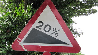 20% sign | by HowardLake