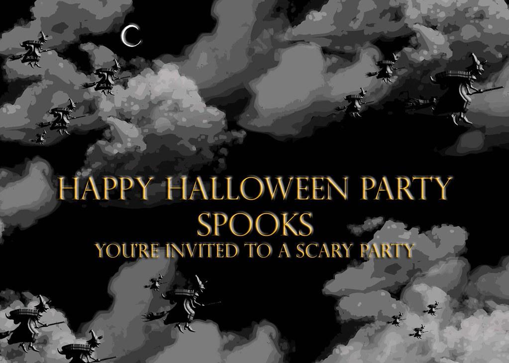 Halloween Invite In Hannah S Room Until Dawn