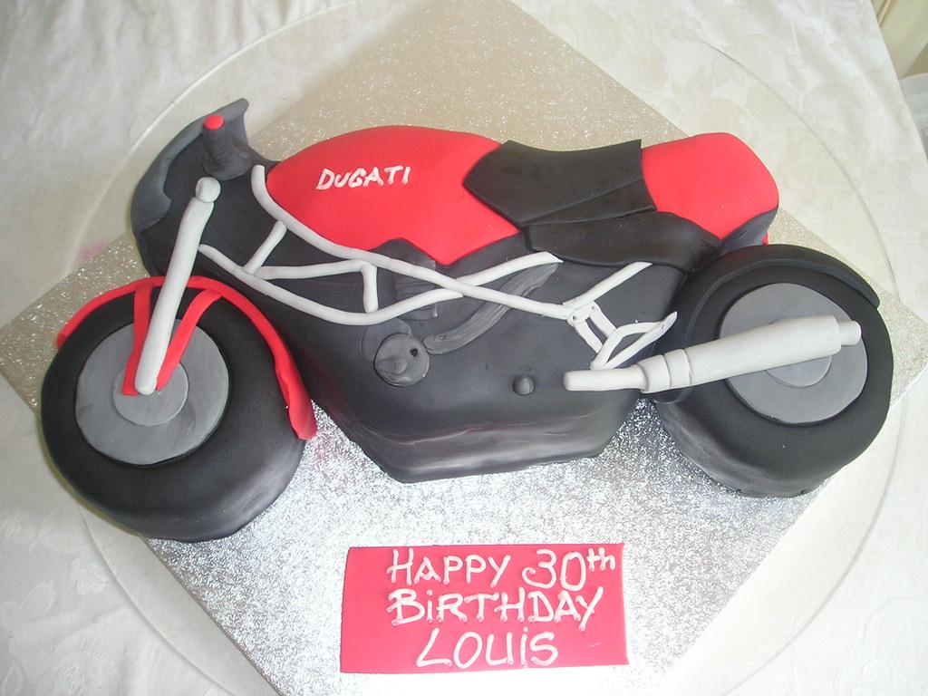 Cake Art Motorcycle Cake Pan : Motorbike cake Sharon Sweeney Flickr
