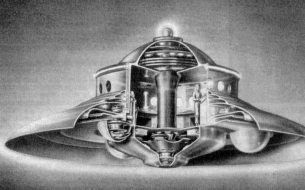 Section 5 >> cross-section of Adamski UFO   Simon Murphy   Flickr