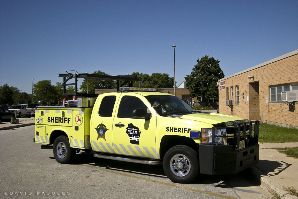 Milwaukee County Sheriff Freeway Service Team Milwaukee