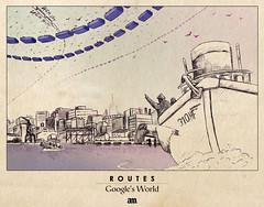 "Routes ""Google's World"""
