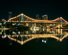 Cityscape - Story Bridge by Mozaa01