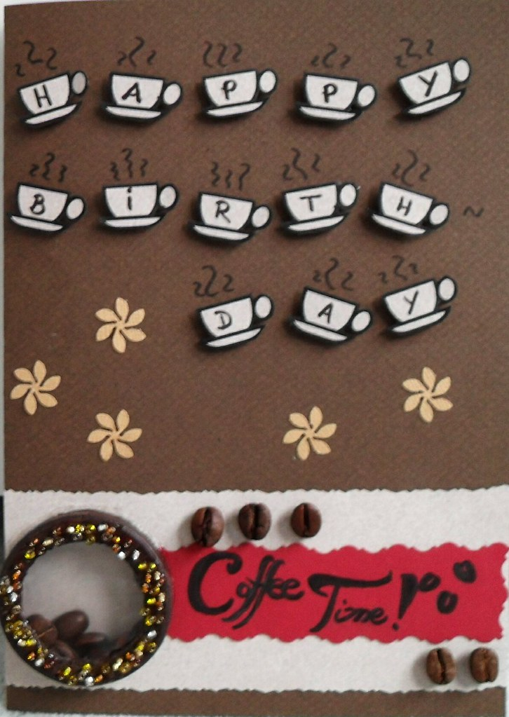 birthday card  coffee theme close up  birthday card for co…  flickr, Birthday card