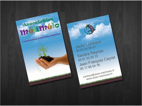 Carte De Visite Association MeliMelo