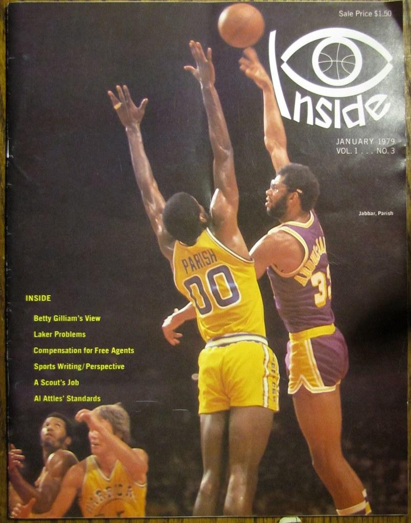 Inside Basketball Kareem over Golden State Warriors Rober…