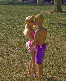 Theme, Barbie and ken naked and kissing commit