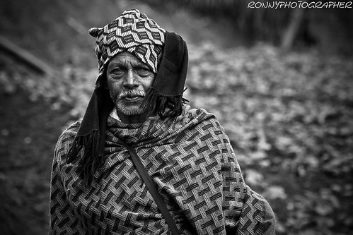 portrait of a corporal who controls the work of the fields near ooty-tamil nadu-south india | by anthony pappone photography