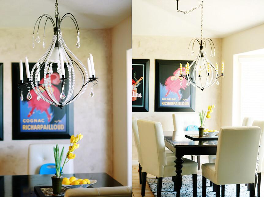 Interior Design Home Decor Yellow Chandelier Crystals Flickr - Yellow chandelier crystals