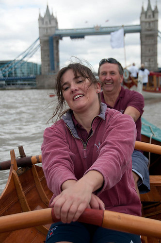Jane & Peter approaching Tower Bridge | by It's life Jim....
