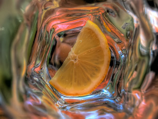 lemon in the glass | by Adriano Rossi