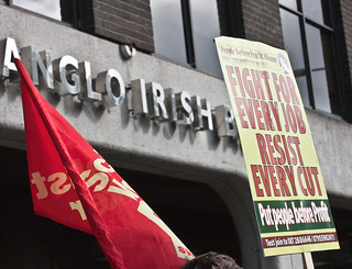 European Day Of Action: Protest March Begins Outside Anglo Irish Bank | by infomatique