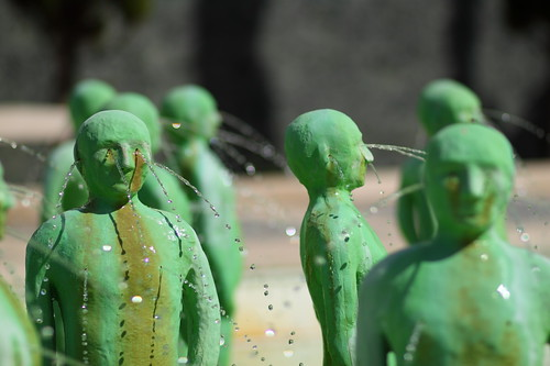 Little green men spilling water by every hole V | by LusoFox