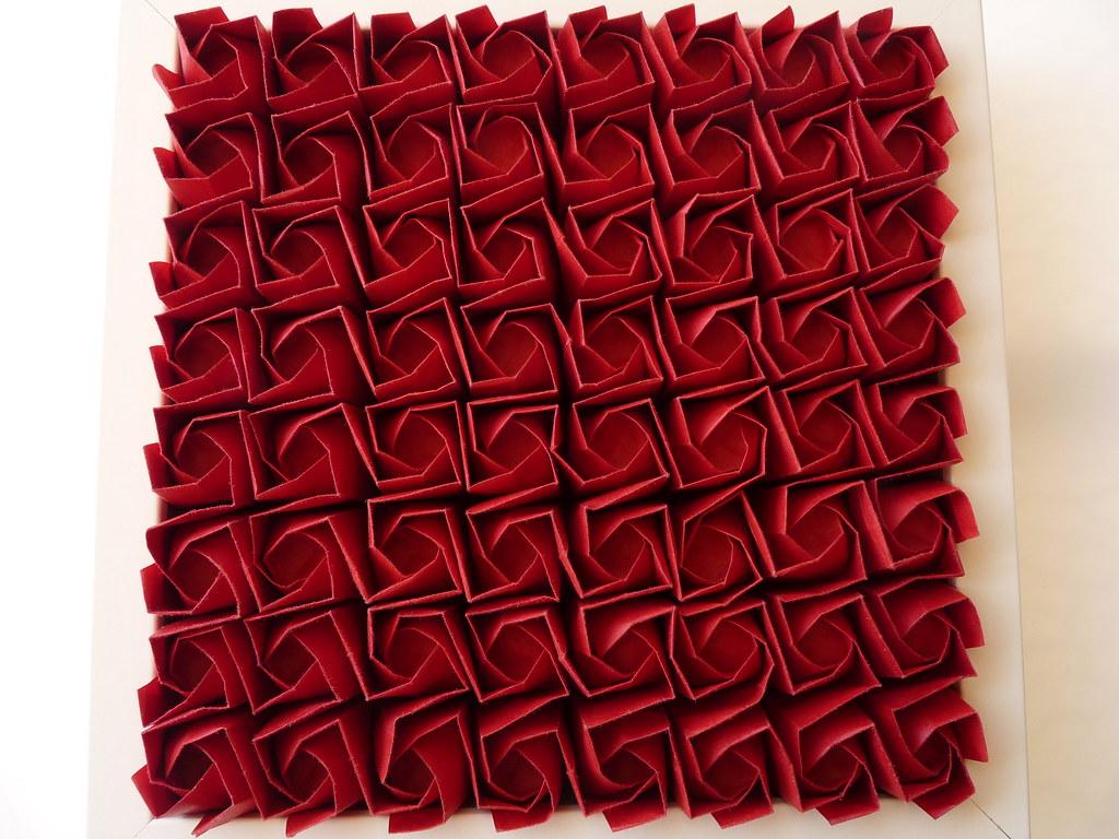 64 kawasaki rose tessellation | I 've folded this model ... - photo#9