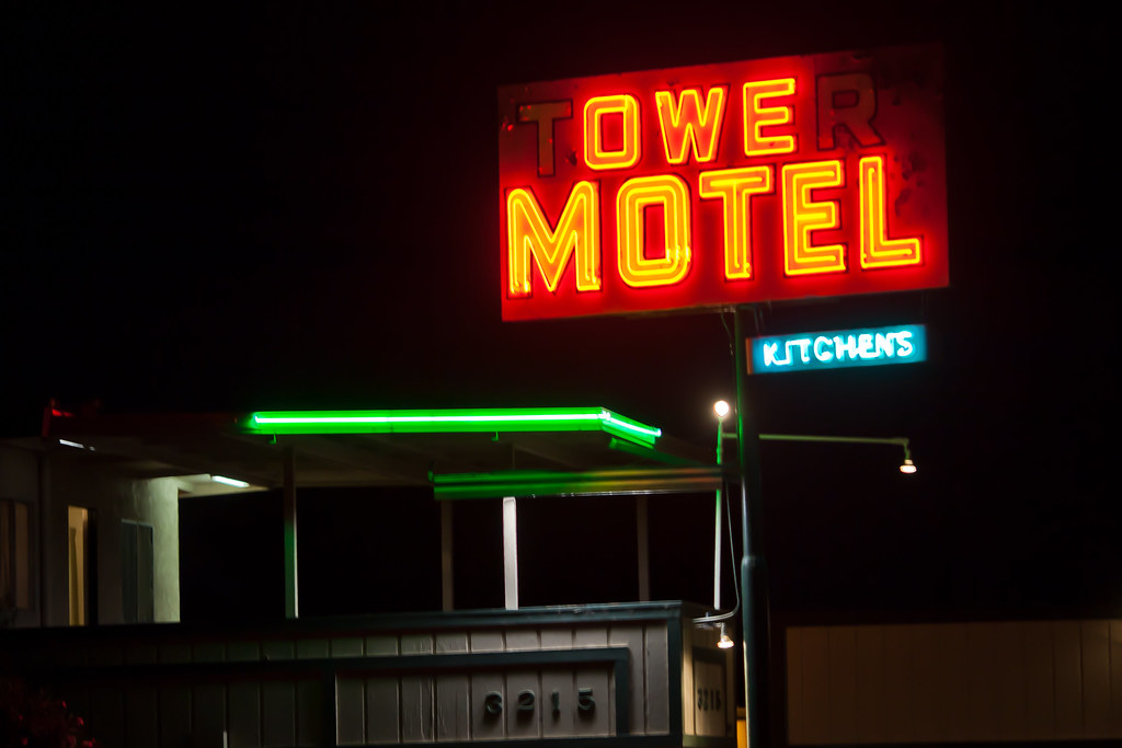 Tower Motel And Apartments Bakersfield Ca