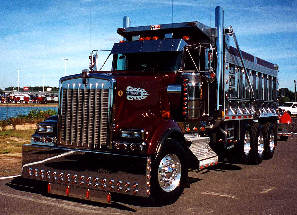 Kenworth Dump Truck | Seen at the 2001 U.S. Diesel ...Kenworth Dump Trucks