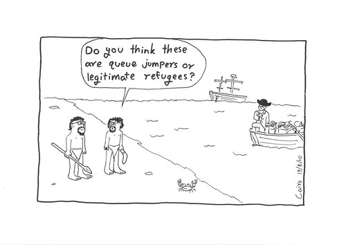 Queue jumpers or legitimate refugees? | by National Museum of Australia