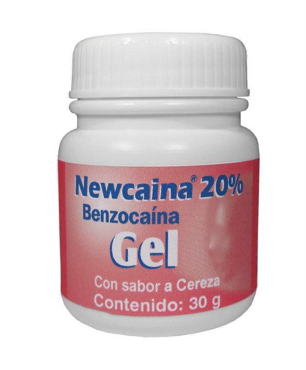 Newcaina Gel Benzocaina By New Stetic S A