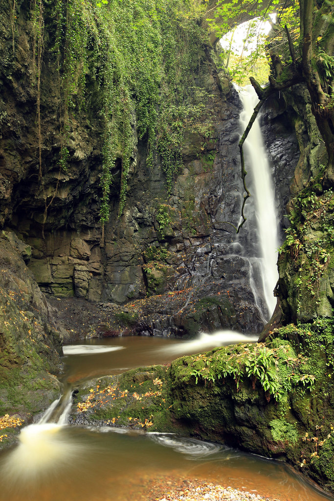 Den O Fenella Waterfall Finella Was The Queen Of The