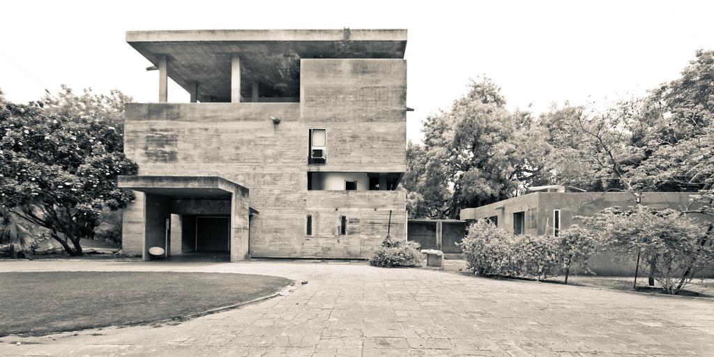 Shodan house ahmedabad le corbusier scott norsworthy flickr - Le corbusier casas ...