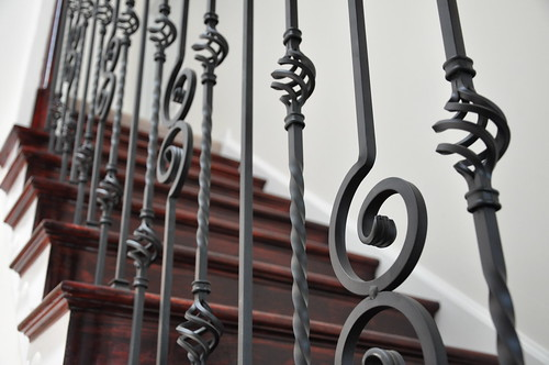 wrought iron balusters richmond virginia 7 by crown molding