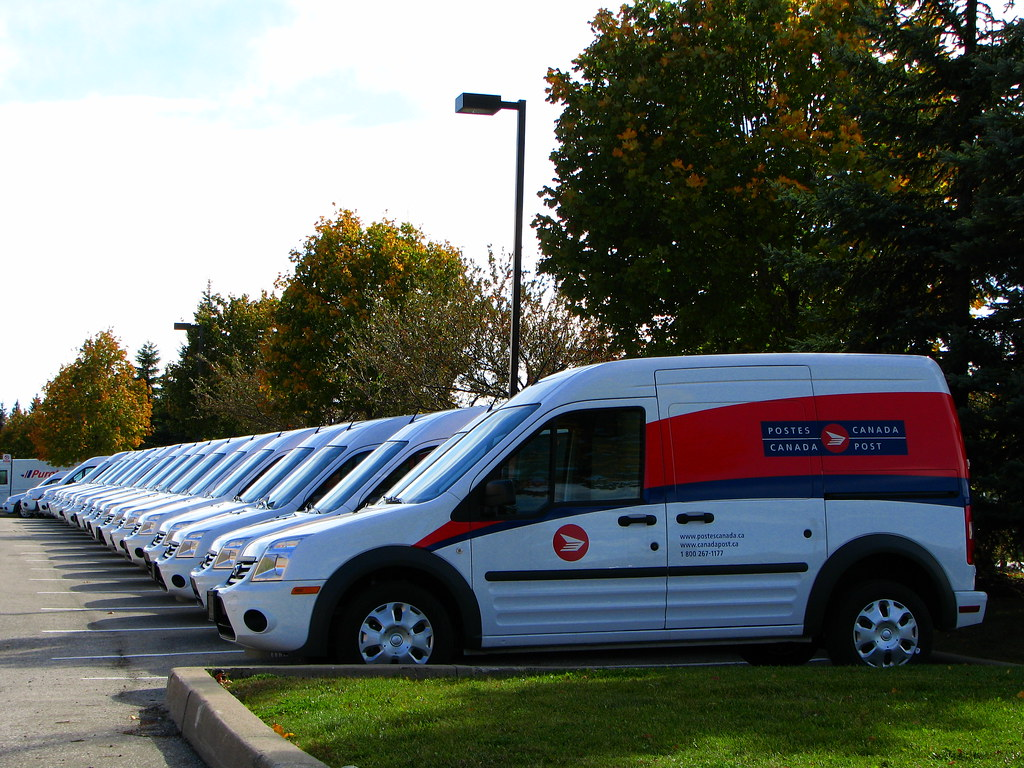 Lots Of Ford Transit Connect
