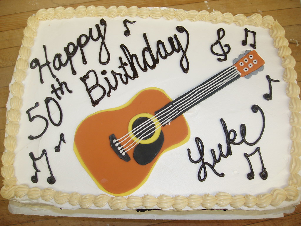 Guitar Grooms Cakes Pictures