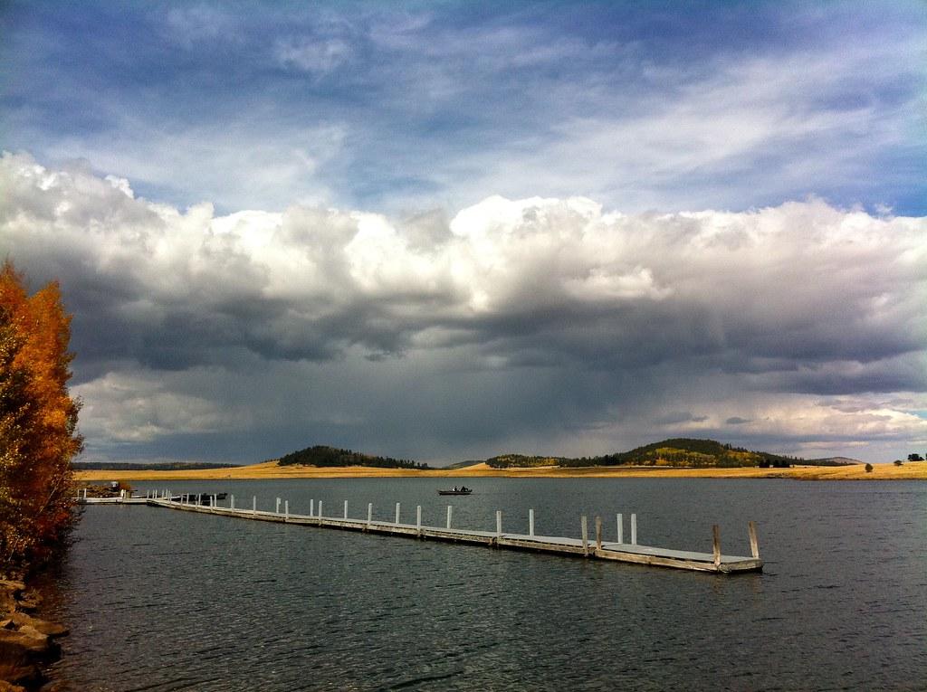 Big lake dock jason thompson flickr for Apache lake fishing